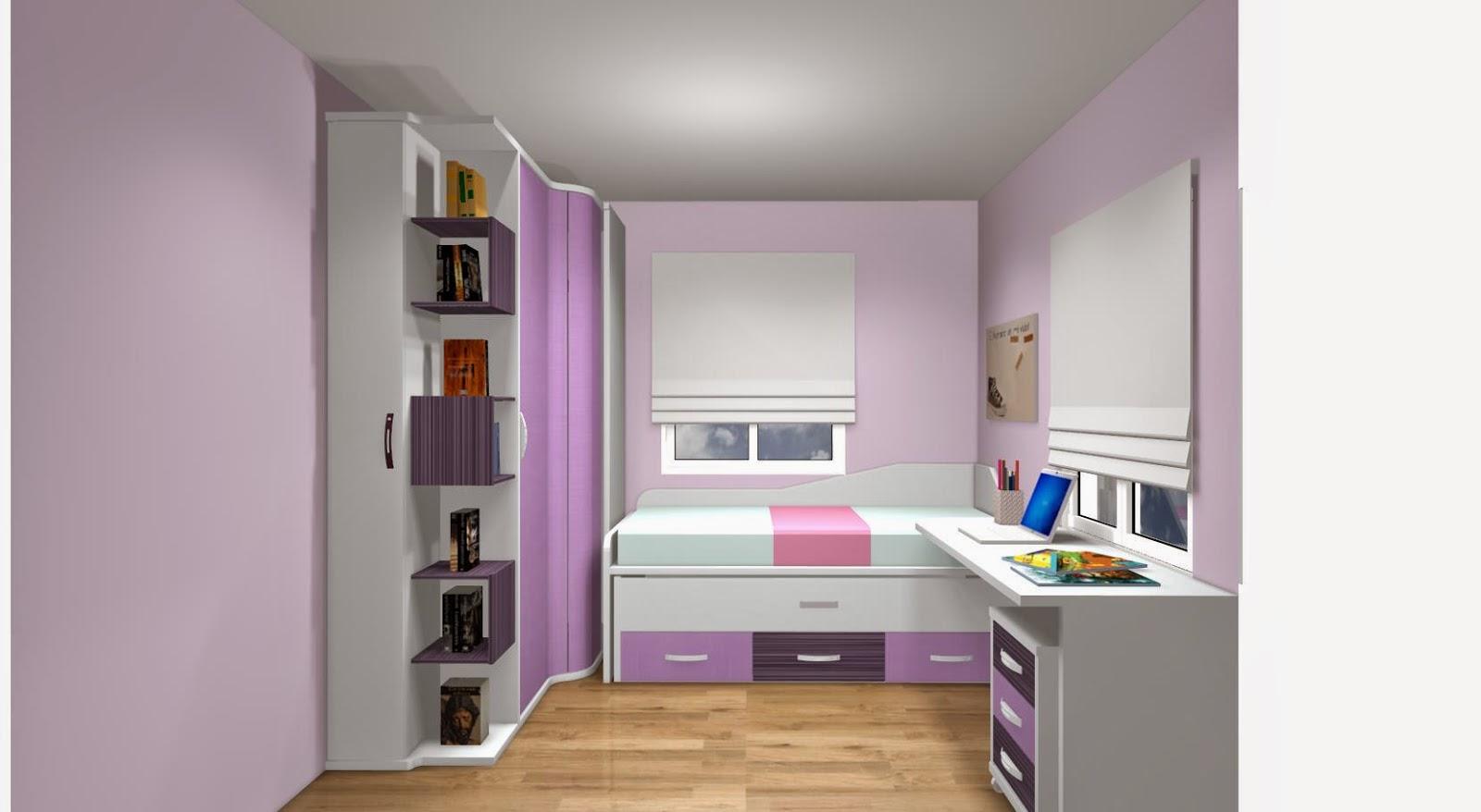 Dormitorio pequeo juvenil latest with dormitorio pequeo juvenil awesome escritorios modernos - Muebles habitacion infantil ...