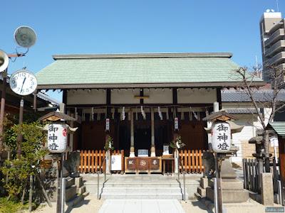 都島神社拝殿