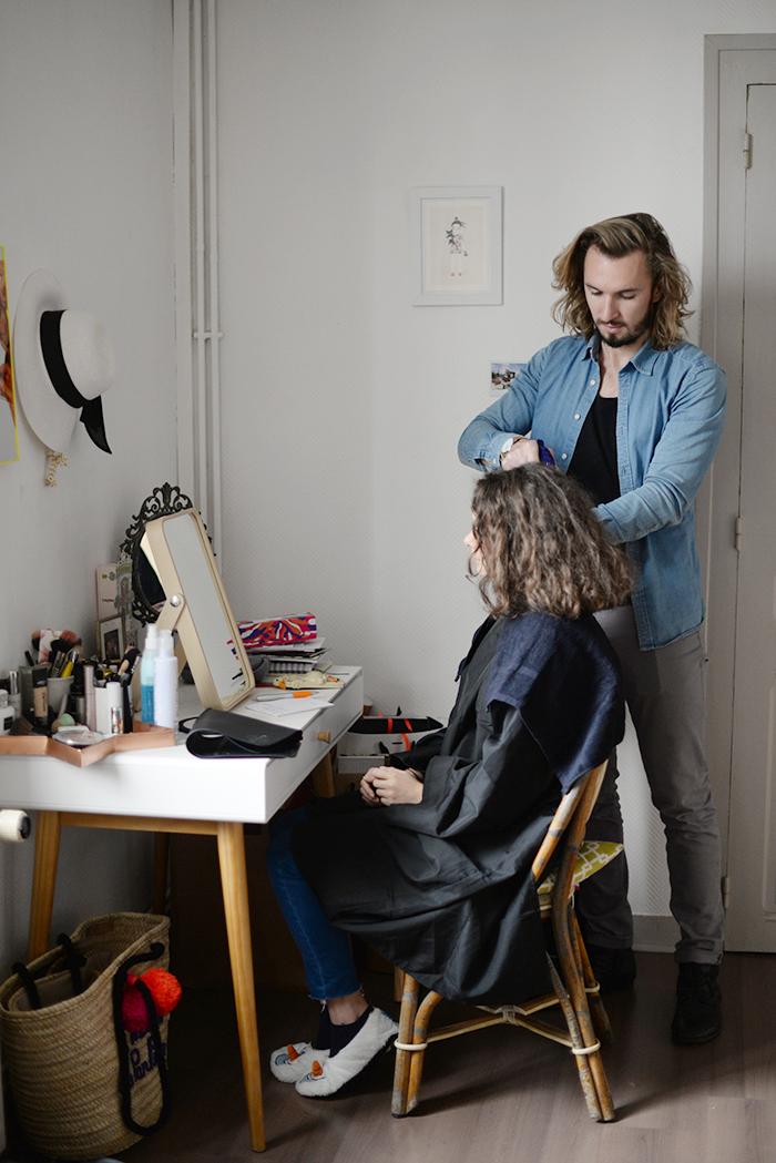 mon exp rience de coiffeur domicile juliette kitsch blog mode beaut lifestyle rennes. Black Bedroom Furniture Sets. Home Design Ideas