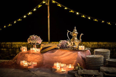 fiori buffet matrimonio
