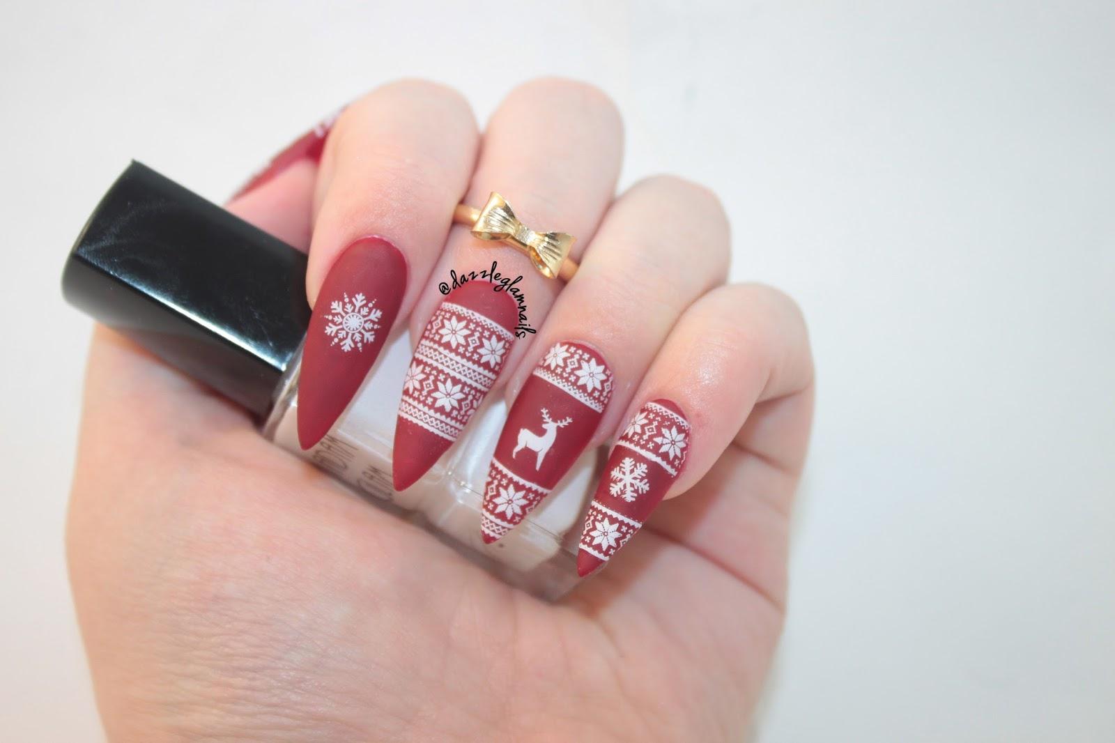 Dazzle Glam Nails | Nail Art Blog