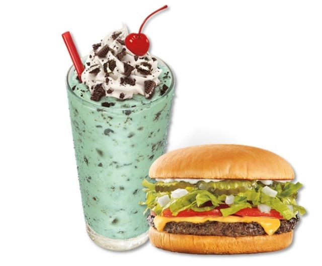 Sonic Introduces Double Feature Shake And Burger Deal