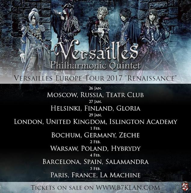 Versailles EU Tour 2017