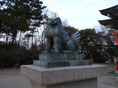 大阪城豊國神社 狛犬