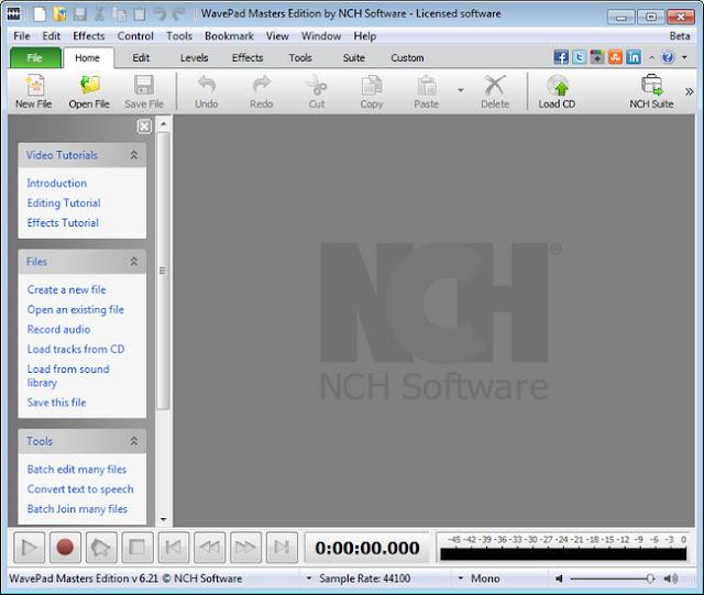 WavePad Sound Editor Masters Edition Full Version