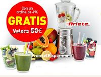 Logo In regalo per te il Frullatore Ariete del valore di 50€ ! ma solo per pochi giorni