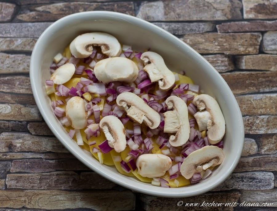 Kartoffel Pilze Auflauf Kochen Mit Diana