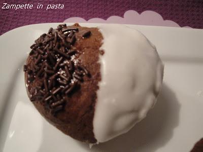 Muffin bicolore - Ricetta dolce per San Valentino