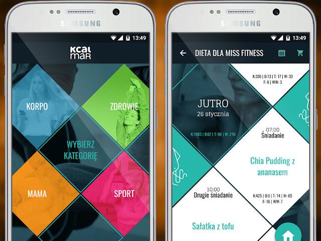 aplikacje ftness po polsku