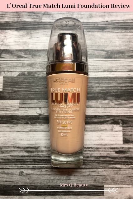 L'Oreal True Match Lumi Foundation Review Cult Favorite