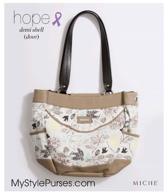 Miche Dove Hope Demi Shell