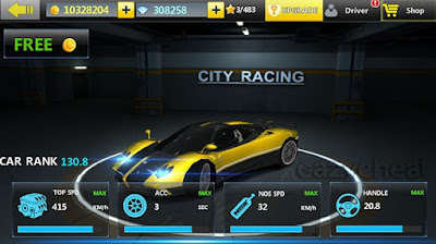 City Racing 3D unlimited gems