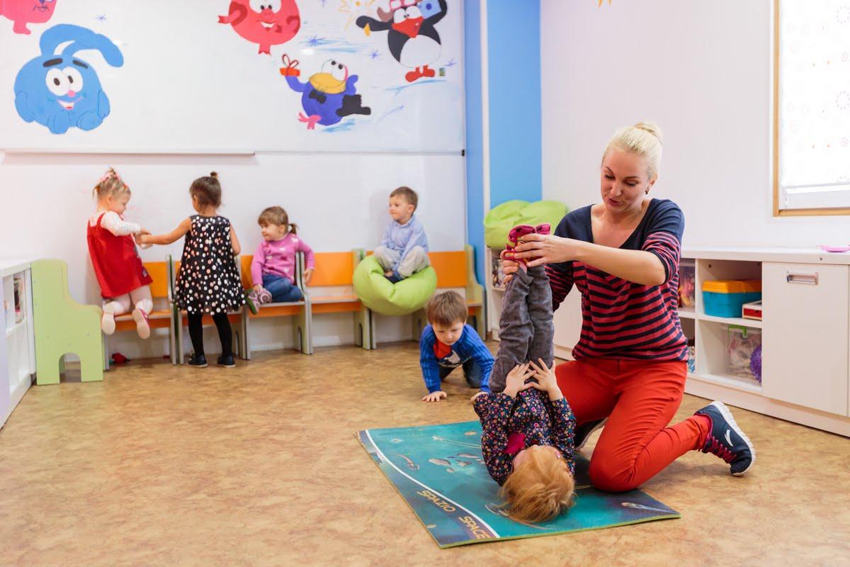 Дети в курортном комплексе Здоровье в Феодосии
