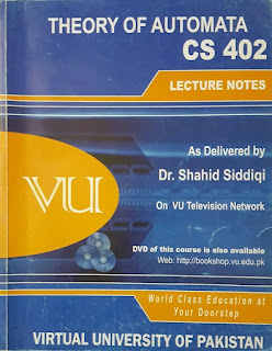 theory of automata, cs-402, download cs-402 handouts, virtual university of pakistan,