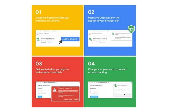 جوجل تعلن عن إضافة Password Checkup لتنبيهك في حال تم اختراق حسابك
