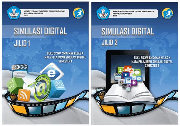 Buku SMK MAK Simulasi Digital Kelas X Semester 1 dan 2