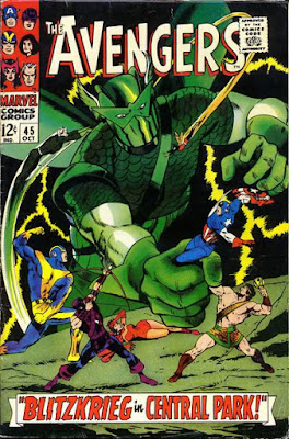 Avengers #45, the Super-Adaptoid