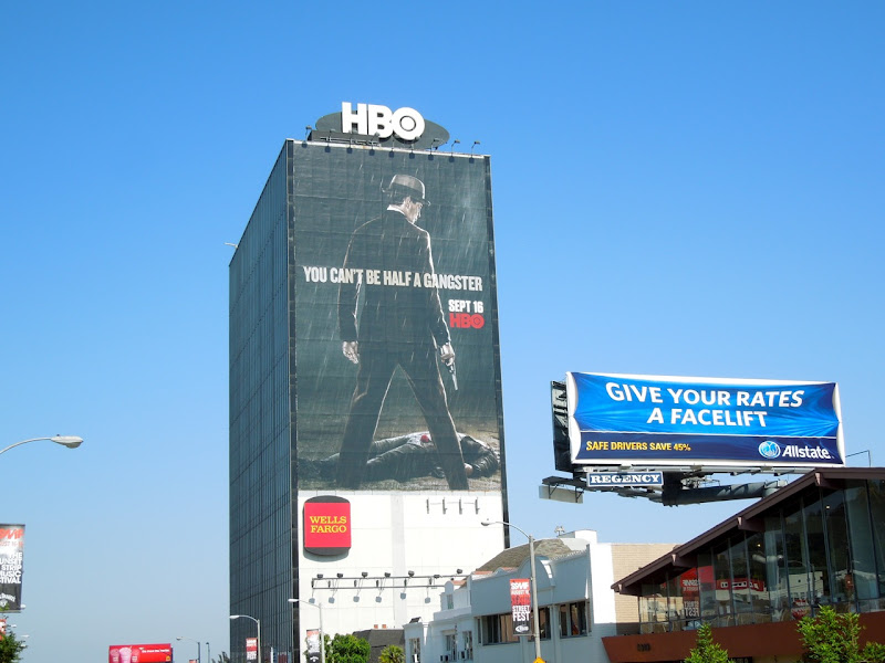 Boardwalk Empire season 3 billboard
