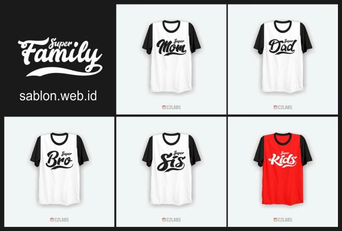 710 Gambar Desain Kaos Untuk Keluarga HD Terbaik Download Gratis