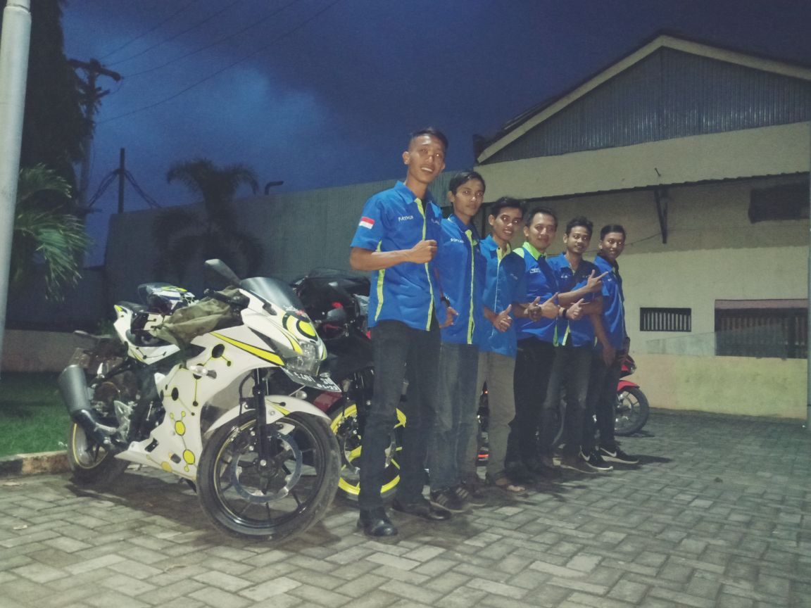 Kepedulian Bikers GSX Club Indonesia terhadap Korban Bencana Alam