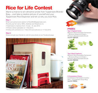 tupperware - CONTEST - Win Tupperware Products