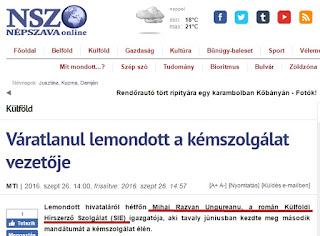 mihai razvan ungureanu a demisionat reactii in social media