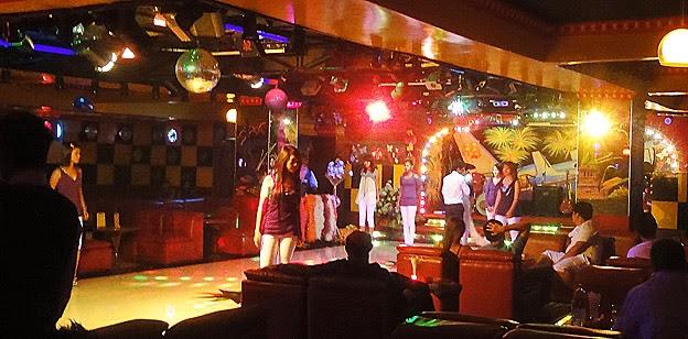 Bar and nightclub at third floor