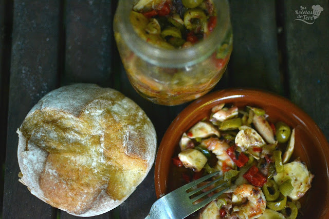 receta de salpicón de langostinos y rejos tererecetas 01