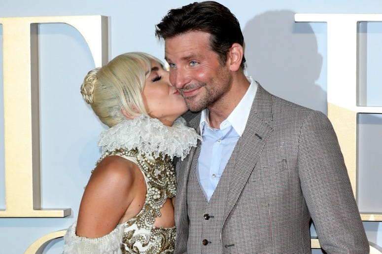 Fanáticos quieren a Lady Gaga con Bradley Cooper después de que terminara con Irina Shayk