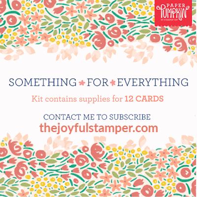 December 2019 Something for Everything Paper Pumpkin kit