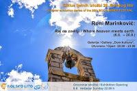 Roni Marinković, izložba Raj na zemlji - Bol slike otok Brač Online
