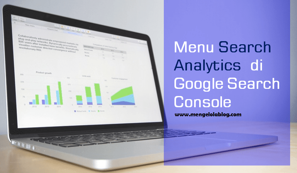 Menu search analytics di Google Search Console