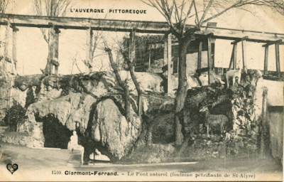 Fontaine pétrifiante et incrustante de Saint-Allyre de Clermont-Ferrand