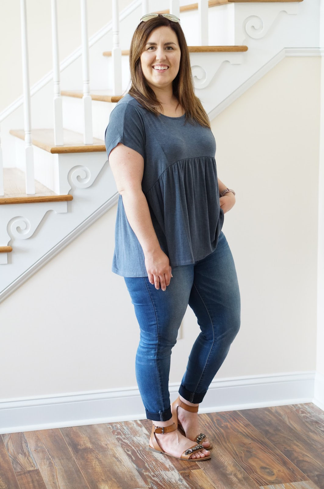 Popular North Carolina style blogger Rebecca Lately shares one of her favorite color combos.  Click here to read how she wears chambray and cognac!