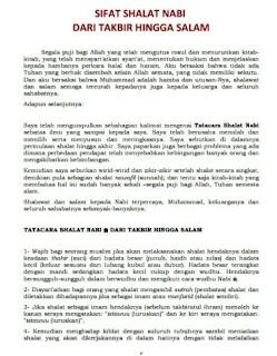 Download Kitab Tuntunan Shalat PDF Gratis dan Lengkap
