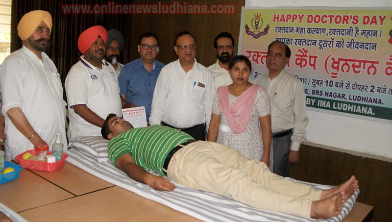 Guests and Doctors during Blood Donation Camp at IMA House