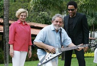 Lava Jato investiga guitarras de astros do Rock doadas ao Fome Zero