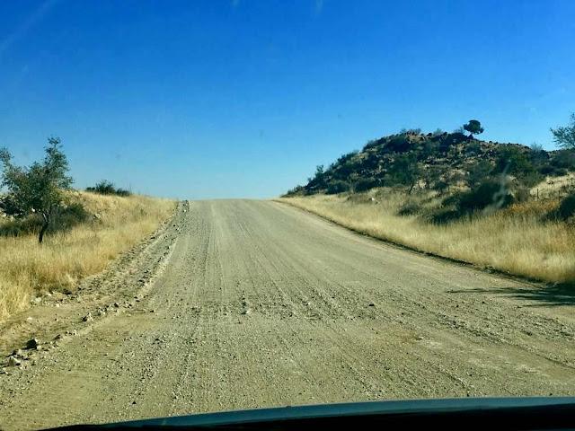 namibia y sus carreteras