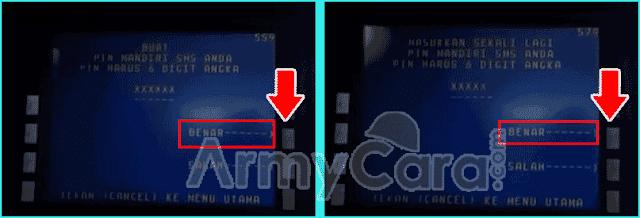 Cara Daftar m-Banking Mandiri di mesin ATM