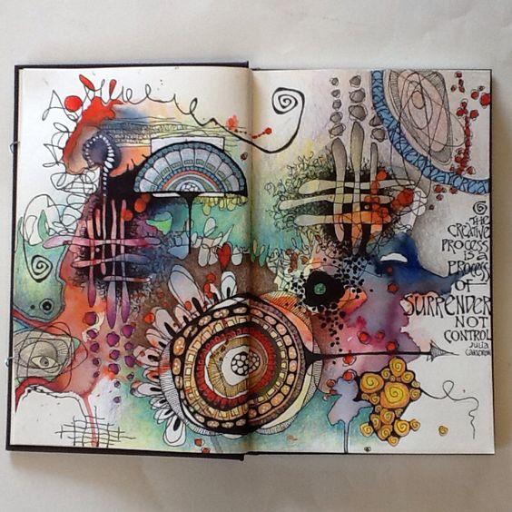 Paperartsy 2016 10 Scribbles And Doodles Challenge Art