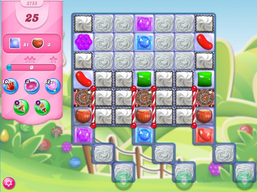 Candy Crush Saga level 3755
