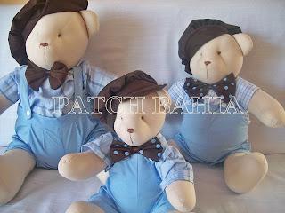 Ursinhos para Meninos!