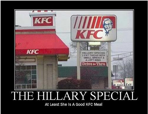 Kfc Funny Chicken Joke: The Hillary Meal Deal