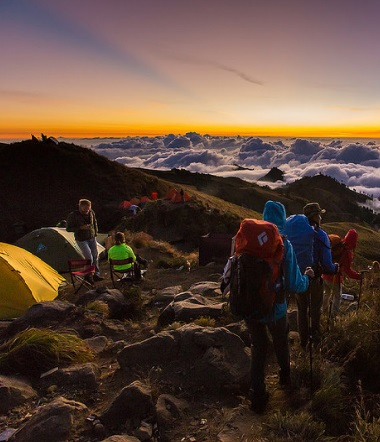 A Million Beauty When Climbing Mount Rinjani
