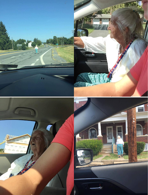 Mysterious old woman walking on the road gave him chills. What happened when he gave her a lift, shocked him!