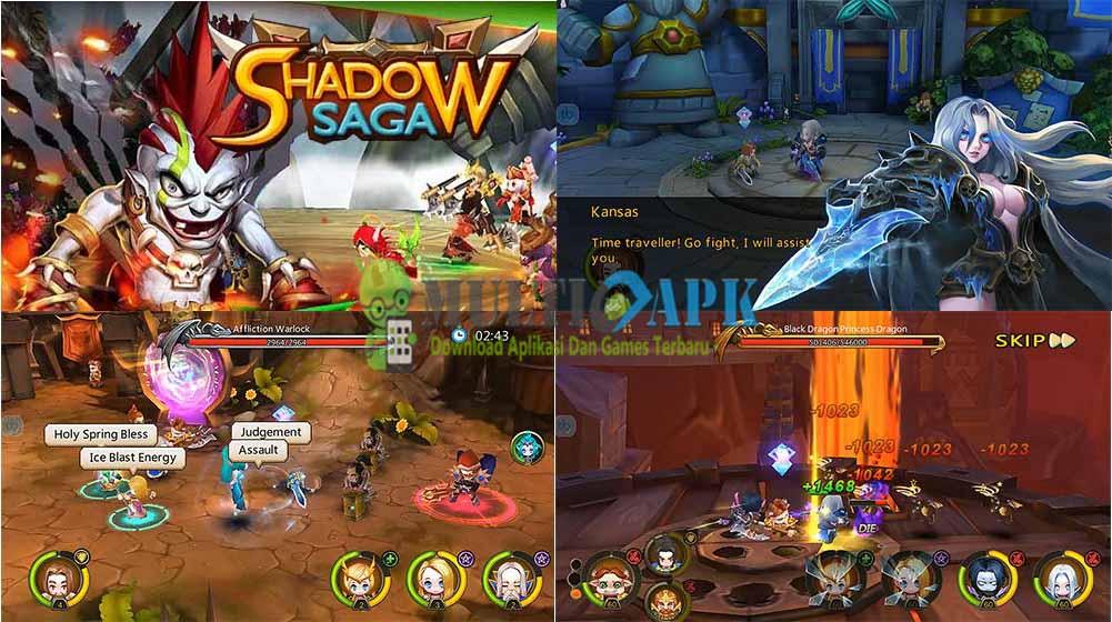 Shadow Saga Reborn Apk + Obb Mod