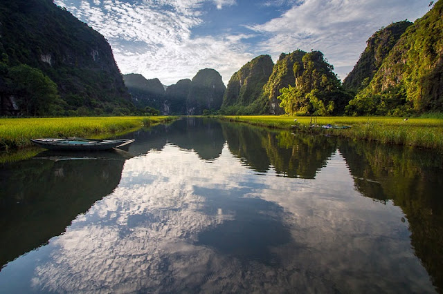 Tam Coc - Bich Dong and The gift of nature