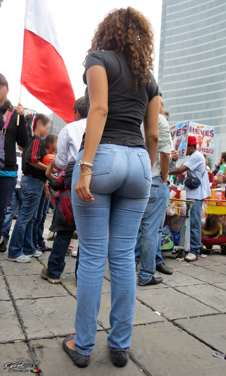 most perfect ass milf! in ultra tight jeans
