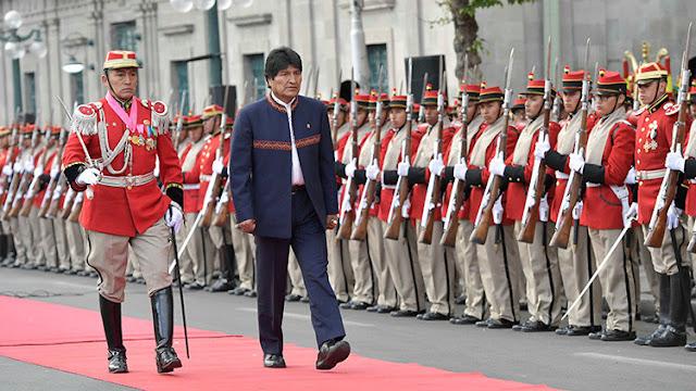 """Evo Morales a Washington: """"No tenemos miedo"""""""