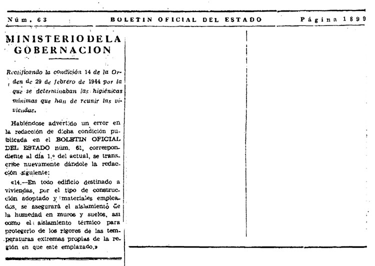 condiciones mínimas de viviendas 1944 – pagina 3